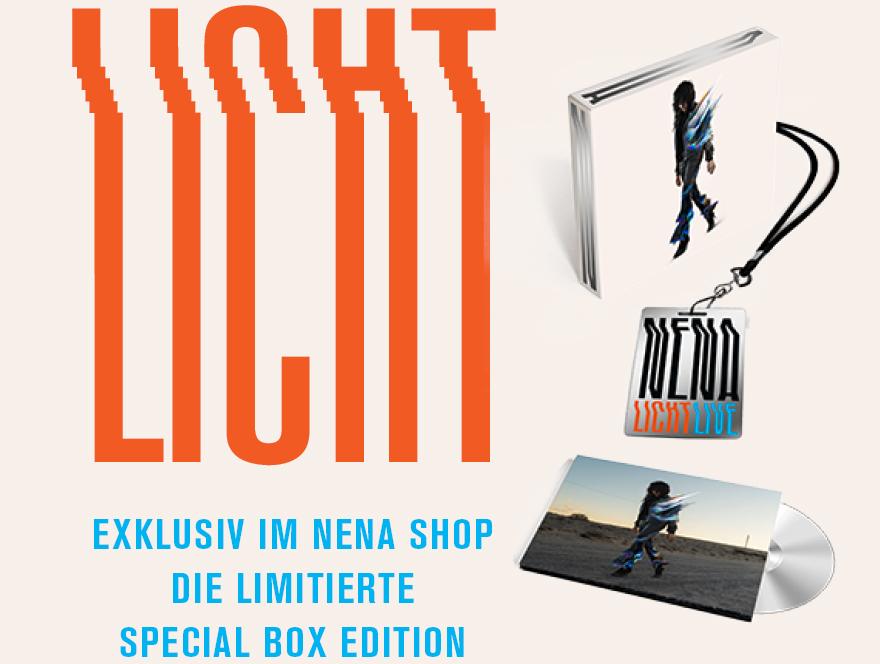 LICHT - Exklusiv im Nena Shop die limitierte Special Box Edition
